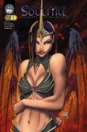 Aspen Soulfire #1E Wizard World Chicago WWC Turner Variant
